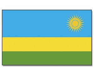 Flagge Ruanda 90 x 150