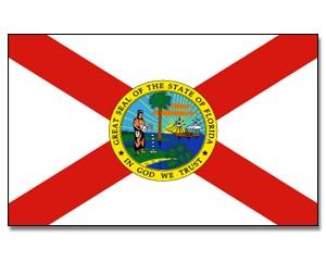 Flagge Florida 90 x 150
