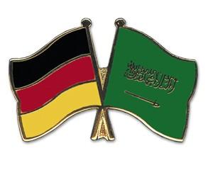 Freundschaftspins Deutschland-Saudi-Arabien