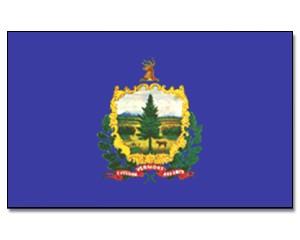 Flagge Vermont 90 x 150