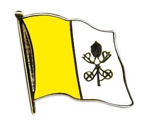 Flaggen-Pins Vatikanstadt (geschwungen)