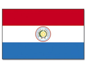 Flagge Paraguay 90 x 150