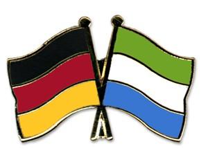 Freundschaftspins Deutschland-Sierra Leone