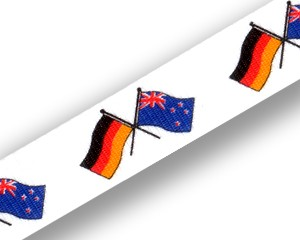Schlüsselbänder: Deutschland-Neuseeland