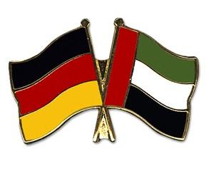 Freundschaftspins Deutschland-Ver. Arab. Emirate