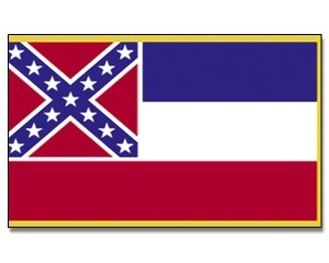 Flagge Mississippi 90 x 150