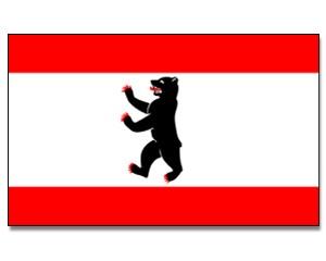 Flagge Berlin 90 x 150