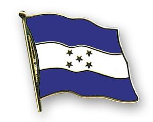 Flaggen-Pins Honduras (geschwungen)