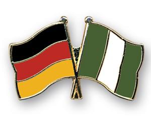 Freundschaftspins Deutschland-Nigeria