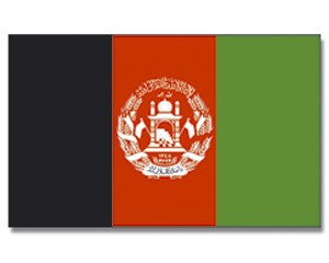 Flagge Afghanistan 90 x 150