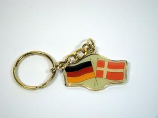Schlüsselanhänger Deutschland-Dänemark