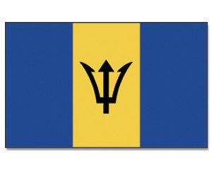 Flagge Barbados 90 x 150