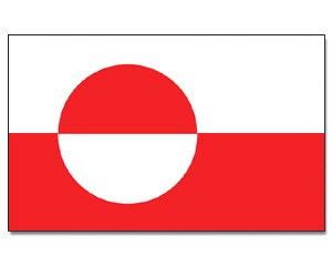 Flagge Grönland 90 x 150