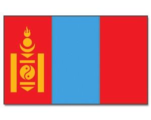 Flagge Mongolei 90 x 150