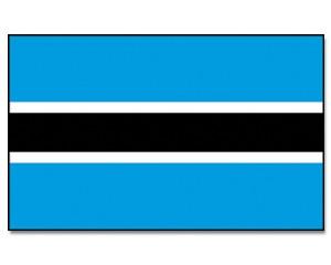 Flagge Botsuana 90 x 150