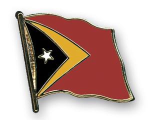 Flaggen-Pins Timor-Leste (geschwungen)