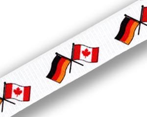 Schlüsselbänder: Deutschland-Kanada