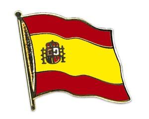 Flaggen-Pins Spanien (geschwungen)