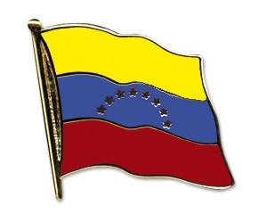Flaggen-Pins Venezuela (geschwungen)