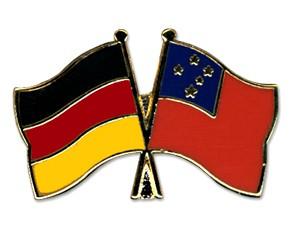 Freundschaftspins Deutschland-Samoa