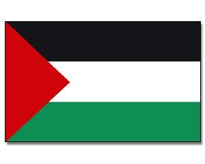 Stock-Flagge Palästina 30 x 45