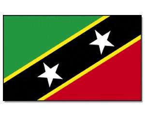Flagge St. Kitts und Nevis 90 x 150