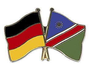 Freundschaftspins Deutschland-Namibia
