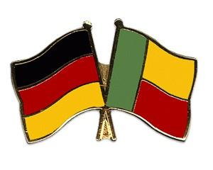Freundschaftspins Deutschland-Benin