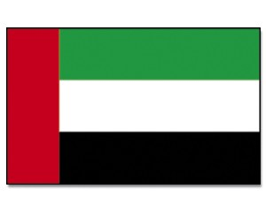 Flagge Ver. Arab. Emirate 90 x 150