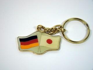 Schlüsselanhänger Deutschland-Japan