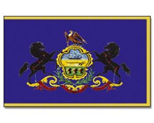 Flagge Pennsylvania 90 x 150