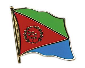 Flaggen-Pins Eritrea (geschwungen)