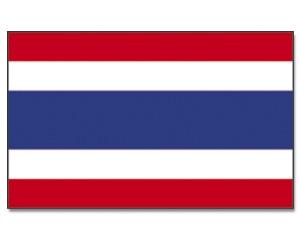 Stock-Flagge Thailand 30 x 45