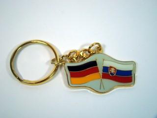 Schlüsselanhänger Deutschland-Slowakei