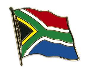 Flaggen-Pins Südafrika (geschwungen)