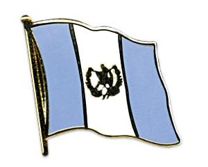 Flaggen-Pins Guatemala (geschwungen)