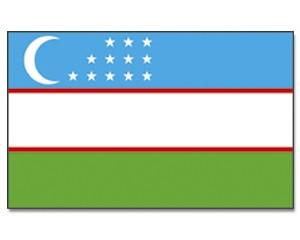 Flagge Usbekistan 90 x 150