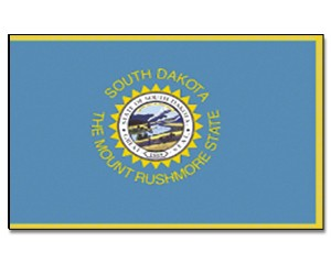 Flagge South-Dakota 90 x 150