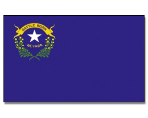 Flagge Nevada 90 x 150