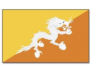Flagge Bhutan 90 x 150
