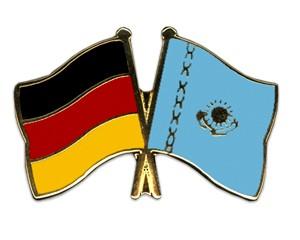 Freundschaftspins Deutschland-Kasachstan