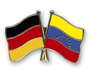 Freundschaftspins Deutschland-Venezuela