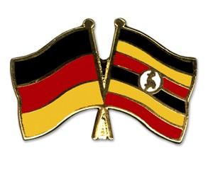 Freundschaftspins Deutschland-Uganda