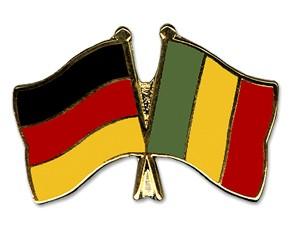 Freundschaftspins Deutschland-Mali