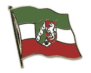 Flaggen-Pins Nordrhein-Westfalen (geschwungen)