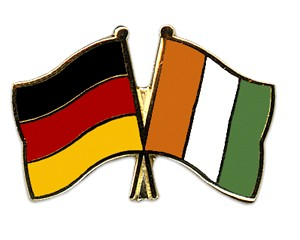 Freundschaftspins Deutschland-Côte d'lvoire (Elfenbeinküste)