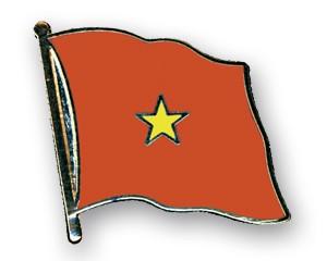 Flaggen-Pins Vietnam (geschwungen)