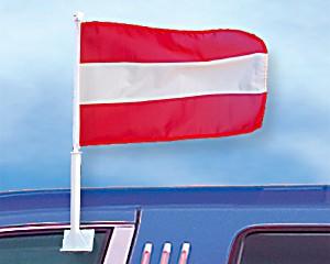 Autoflagge Österreich 27 x 45