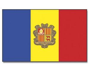 Flagge Andorra 90 x 150