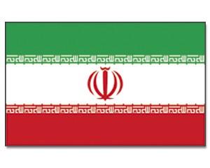 Stock-Flagge Iran 30 x 45
